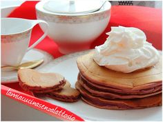 Pancake senza lattosio San Valentino