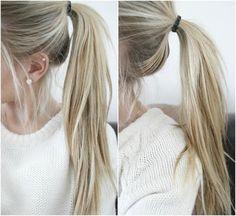 long ponytail