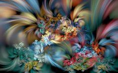 Wildflowers in the Mist by wolfepaw.deviantart.com on @DeviantArt