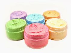 Sample Four 4 Ounce Jars Of Sugar Scrub In Our Combo by lathertech