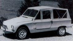 Citroën Dyane tout chemin