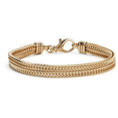 Blue Nile Two Row Foxtail Bracelet ($165) ❤ liked on Polyvore featuring jewelry, bracelets, accessories, blue nile jewelry, vermeil jewelry and blue nile