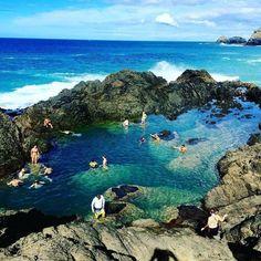 The Mermaid Pools, Matapouri Bay Bay of Islands, New Zealand