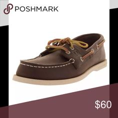 Sperry top-sider men's rudder brown boat shoes 9 This item is brand-new and the factory original box. Sperry Top-Sider Shoes Boat Shoes