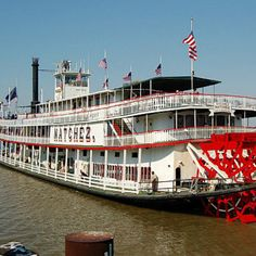 Make sure to take a ride on the Natchez Riverboat while in New Orleans. ;)  And, do the dinner cruise!  ;)