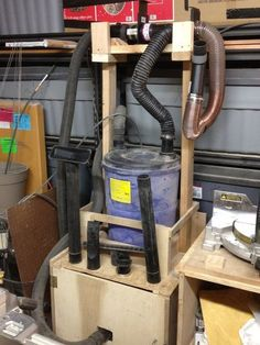 Shop-Vac Dust Collection System