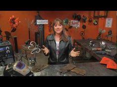 How To Weld Garden Art DIY, from weldingforfundotcom on YouTube