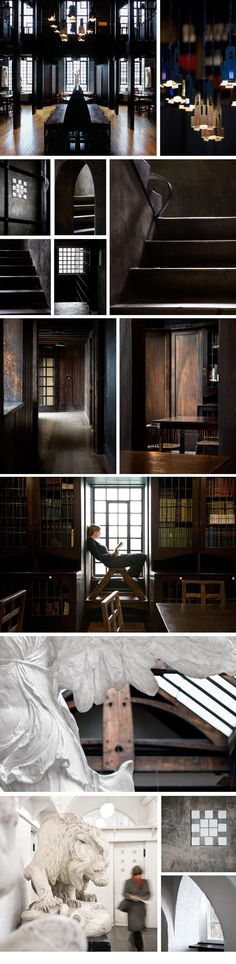 Mackintosh Building by Charles Rennie Mackintosh - photos by Christopher Heaney
