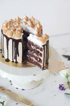 S'mores Layered Cake   Natalie Eng