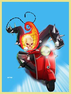 Ghost Rider •Marco D'Alfonso