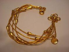 Gurhan 24K Solid Yellow Gold Heavy Bracelet  #gurhan #LinkChain