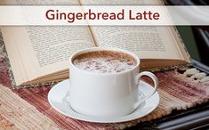 Gingerbread Latte -use Almond Silk instead of Almond Breeze, which has xanthan gum.