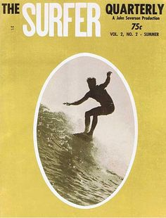 60's Classic Surf Magazines. SURFER MAGAZINE VOLUME 2, NO. 2 (1961)