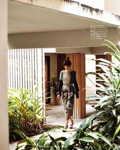 """The Karate Kit"" Diana Gartner by Hans Van Brakel for Marie Claire Netherlands August 2014"