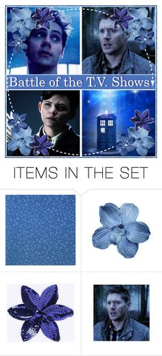 """""""Battle of the T.V. Shows!!"""" by sunadie-inoino ❤ liked on Polyvore featuring art"""