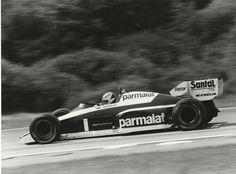 AUSTRIAN GP 1984 #1 BRABHAM BT53 NELSON PIQUET ORIGINAL PERIOD PHOTOGRAPH F1 GP