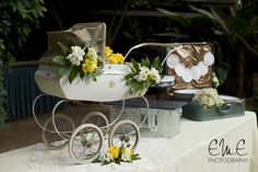 Vintage Baby Carriage Inspired Baby Shower