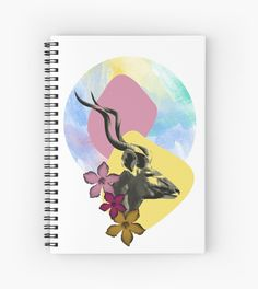 Millions of unique designs by independent artists. Find your thing. Silhouette S, Notebook Design, Artwork Prints, Spiral, Finding Yourself, Stationery, Artists, Stickers, Printed