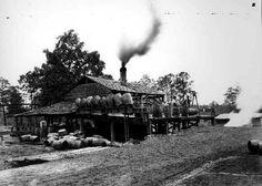 Turpentine still Alabama 1895