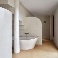 Gietvloer & Microcement badkamer Gorinchem In deze hoekwoning in ...