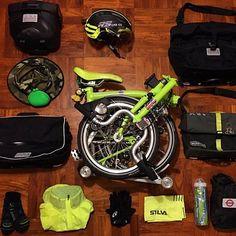 I love my bike! Commuter Bike, Tech Toys, Brompton, Hood Ornaments, Bicycle Design, Bike Accessories, Cycling Bikes, New Hobbies, Bike Life