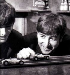 John was obsessed with his slot car sets. He use to try to take them on tour with him!