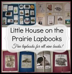 Little House on the Prairie (the series) FREE Lapbooks