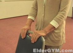 Balance exercises for older adults