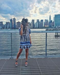 Reunited with my family today in #NYC and I couldn't be any happier  this flowy dress is only $20! I'm for sure wearing it again for game days back home.  http://liketk.it/2oYTg @liketoknow.it