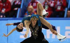フィギュア団体戦・アイスダンスFDで首位のデイビス/ホワイト組、ソチ五輪