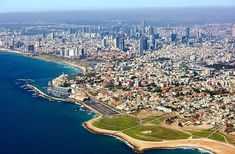 Going to Tel Aviv? The city of Tel Aviv provides FREE internet citywide. Terra Santa, Places To Travel, Places To Visit, Tel Aviv Israel, Destinations, Israel Travel, Earth From Space, Holy Land, Countries Of The World