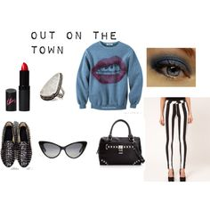 Out On The Town, created by fashionstachristy on Polyvore