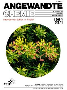 ...  the structural formula of taxol, R1 = Ph, R2 = OAc, superimposed on the needles of the European yew (photograph: S. C. Wilson, TIME-LIFE Magazine, USA).  ... Abundant taxol sources and methods to make taxol accessible by semisynthesis or total synthesis are being sought. The fascinating history of taxol, unfolding along the highly interwoven boundary between medicine, cellular biology, and organic chemistry, is summarized by Nicolaou et al. on pages 45–66. http://doi.org/cwk6sd
