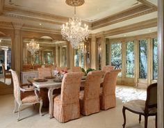 Formal French Chateau - Culbertson Durst Interiors