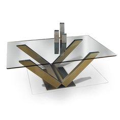Mesa de centro / de interior / moderna / de cristal EOLIA GONZALO DE SALAS