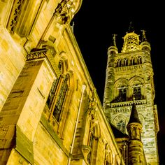 East face of Glasgow University by anditracey on 500px