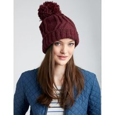 Cable Traveller Hat
