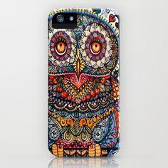 Boho Owl Cell Phone Case