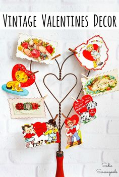 You may not think of a carpet beater or rug beater as something worth upcycling for Valentine
