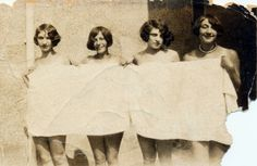 Summer is no time for shyness. Taken at Brighton, England. Summer of 1925 - Imgur