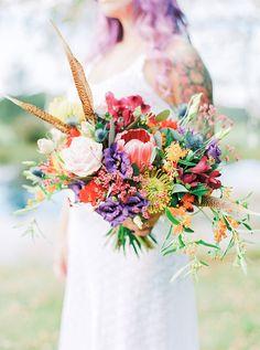 Boho Pins: Top 10 Pins of the Week – Rainbow Weddings
