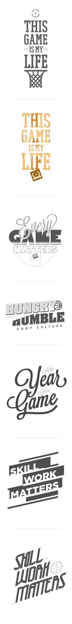Basketball T-Shirt Designs by Jim Vranas, via Behance