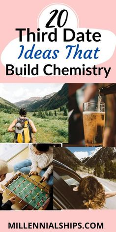 Third Date Ideas: 20 Dates That Build Chemistry - Millennialships Dating Unique Date Ideas, Cheap Date Ideas, Date Ideas For New Couples, Cute Date Ideas, Online Dating Questions, Fun Questions To Ask, Couple Questions, Good Dates, First Dates