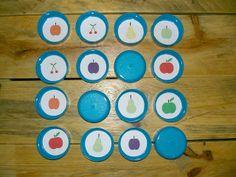 Gabulle in wonderland: DIY du mercredi : mémory à imprimer adapté aux mains des tout petits