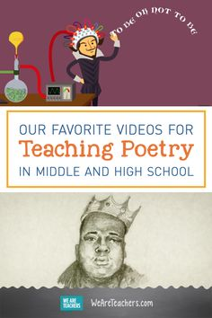 Our Favorite Videos for Teaching Poetry in Middle and High School. Do you need a new way to get your students excited about poetry? We have the answer! We put together a full proof playlist Middle School Ela, Middle School English, Middle School Classroom, English Classroom, High School Students, Middle School Literature, High School Reading, Gifted Students, Poetry Activities