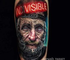 InDivisible tattoo by Michael Taguet