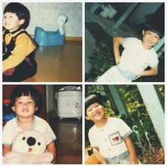 When he was child very cute