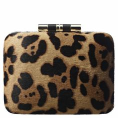 BRIAN ATWOOD  Taylor Clutch ***  Everytime I try to stop with the Leopard Print, it pulls me back in!!
