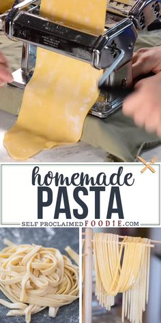 Step-by-step guide to making incredible homemade pasta. Let me assure you, pasta from scratch just kills compared to its boxed counterpart. Kitchen Aid Recipes, Cooking Recipes, Kitchen Aid Pasta Recipe, Skillet Recipes, Cooking Tools, Kitchen Tools, Kitchen Gadgets, Kitchen Cabinets, Homemade Pasta Dough
