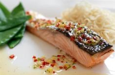 Grilled salmon with ginger, honey and lime recipe - goodtoknow